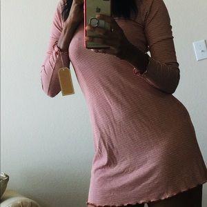 Strip Mini Dress.